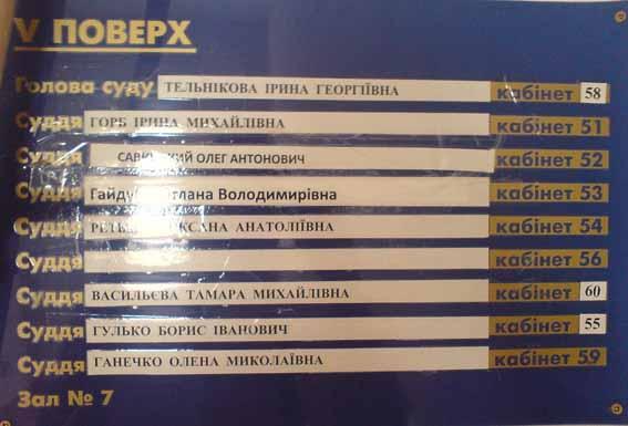суды днепропетровской области